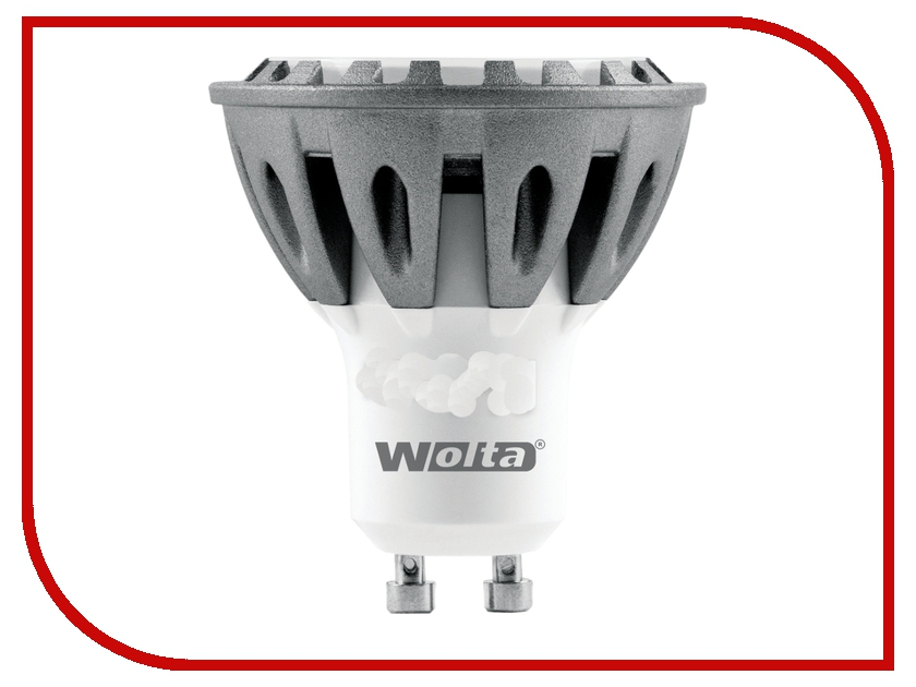 Лампочка Wolta LED-PAR16/5W/3000K/GU10 30YPAR16-230-5GU10