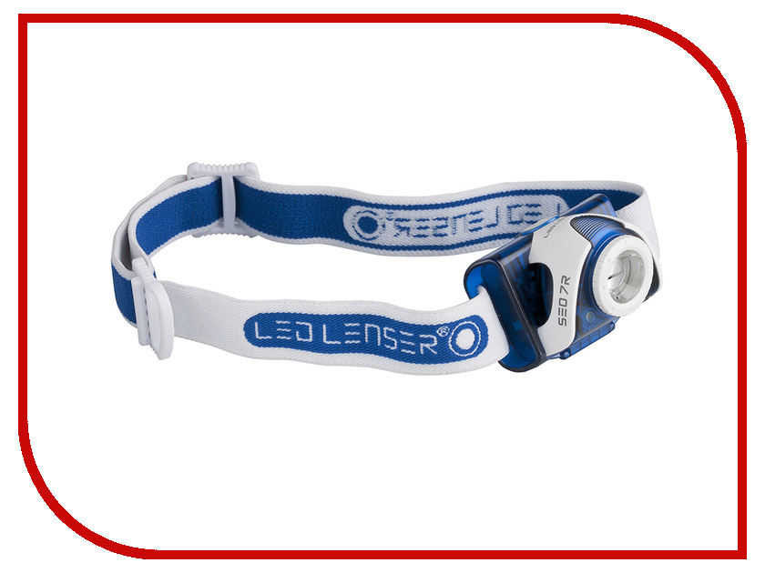 Фонарь LED Lenser SEO7R Blue 6107-R