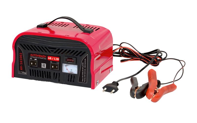 Зарядное устройство для автомобильных аккумуляторов Autovirazh AV-161002<br>