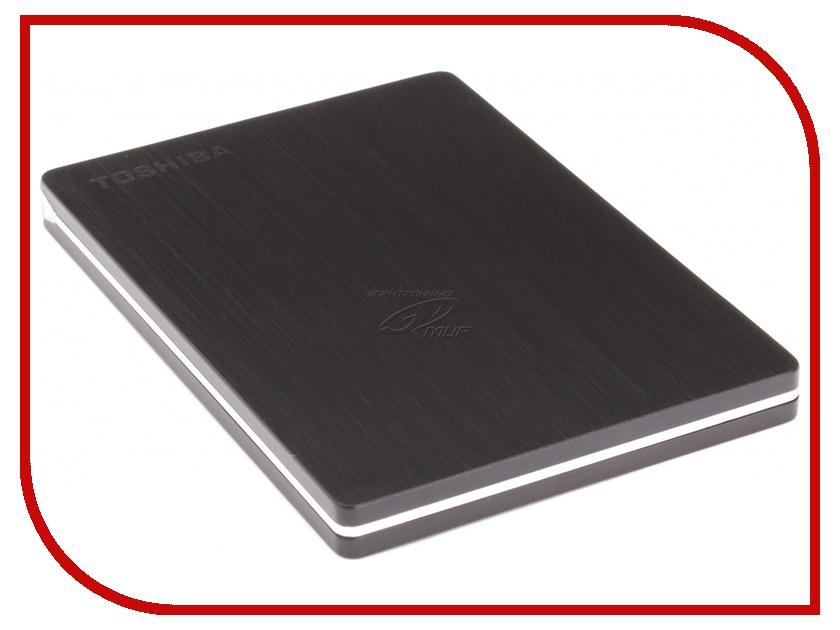 Жесткий диск Toshiba StorE Slim 500Gb USB 3.0 Black HDTD205EK3DA<br>