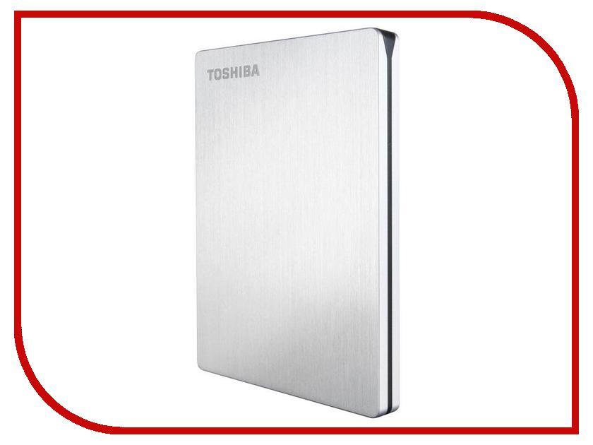 Жесткий диск Toshiba StorE Slim 500Gb USB 3.0 Silver HDTD205ES3DA