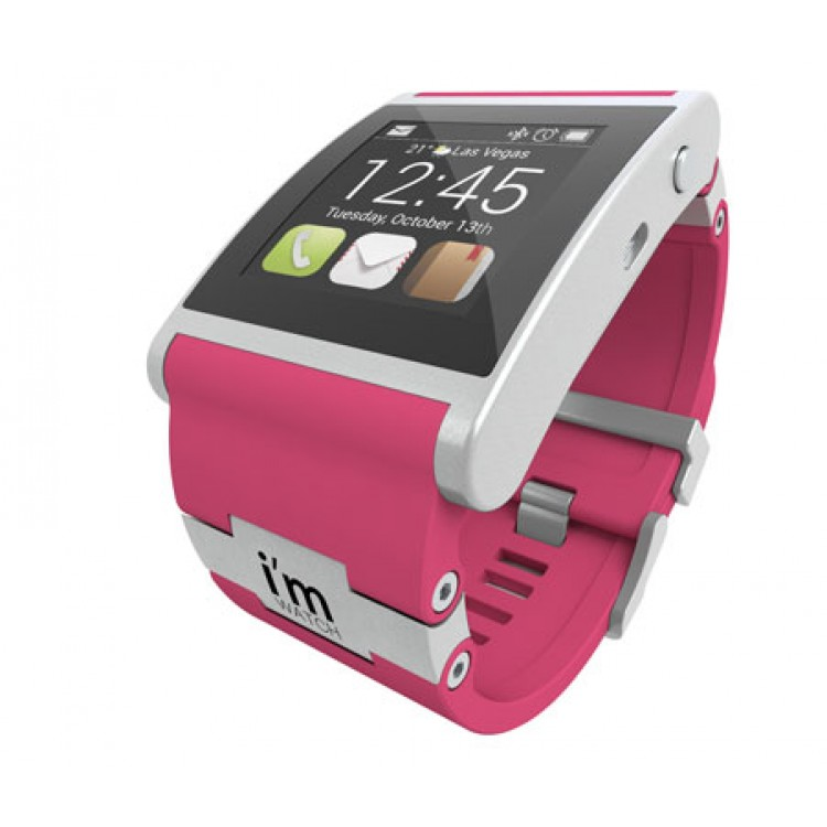 Умные часы I-m Watch Color Pink