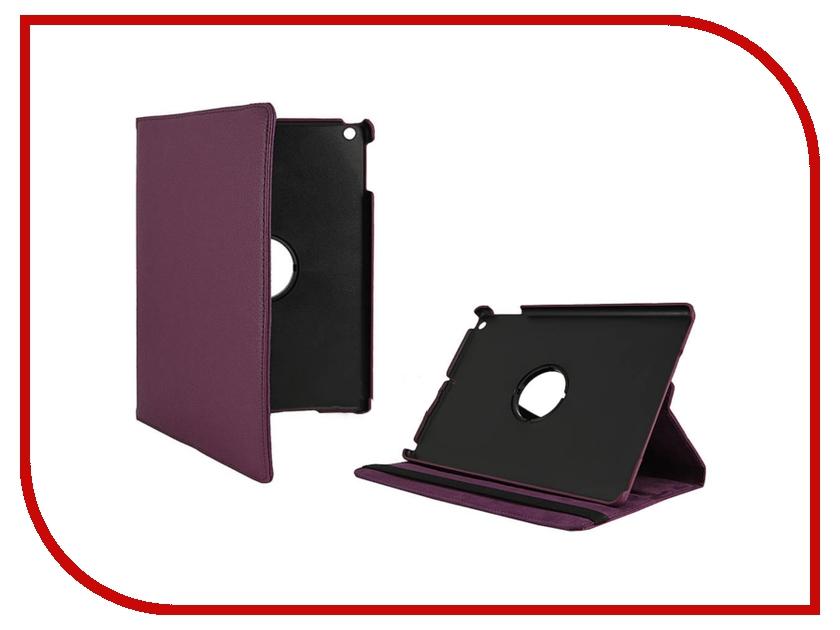 Аксессуар Чехол Ainy for APPLE iPad Air кожаный, крутящийся BB-A242 Purple<br>