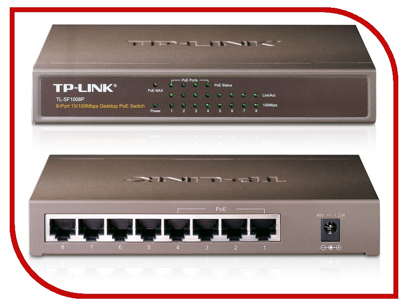 TP-LINK TL-SF1008P tl ant2424md tp link