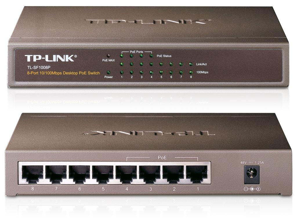 Коммутатор TP-LINK TL-SF1008P