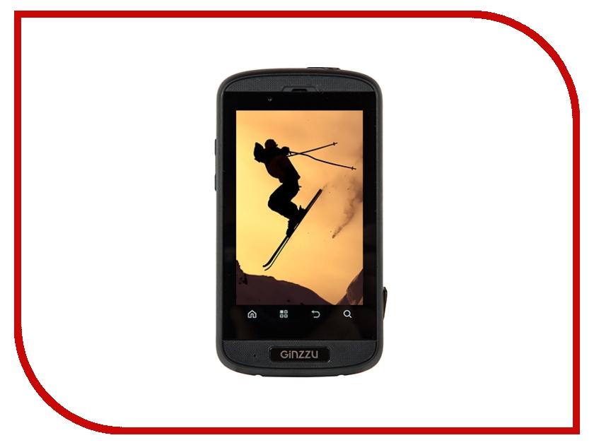 Сотовый телефон Ginzzu R8 DUAL Black-Orange<br>