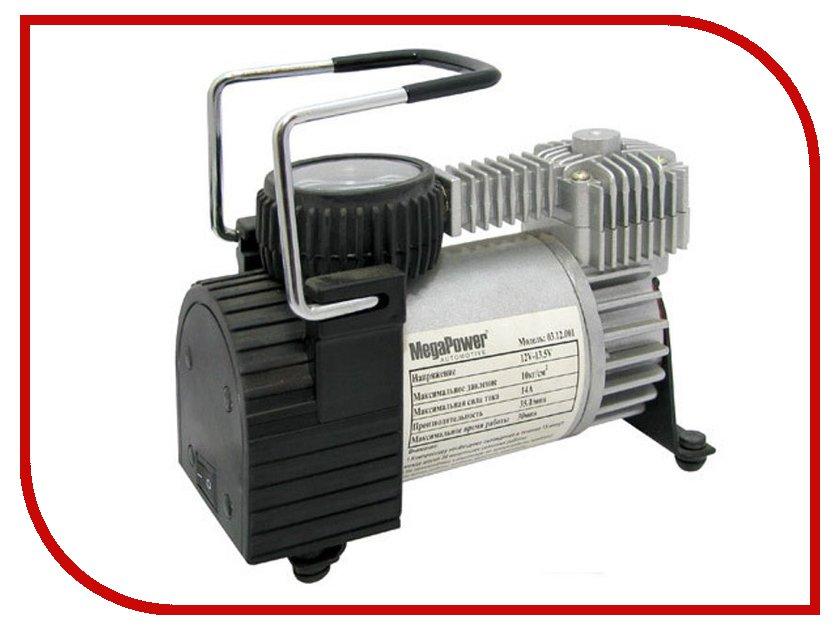 Компрессор MEGAPOWER M-12001 компрессор megapower m 53019