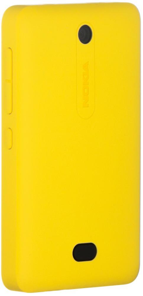Аксессуар Сменная панель Nokia 501 Asha CC-3070 Yellow