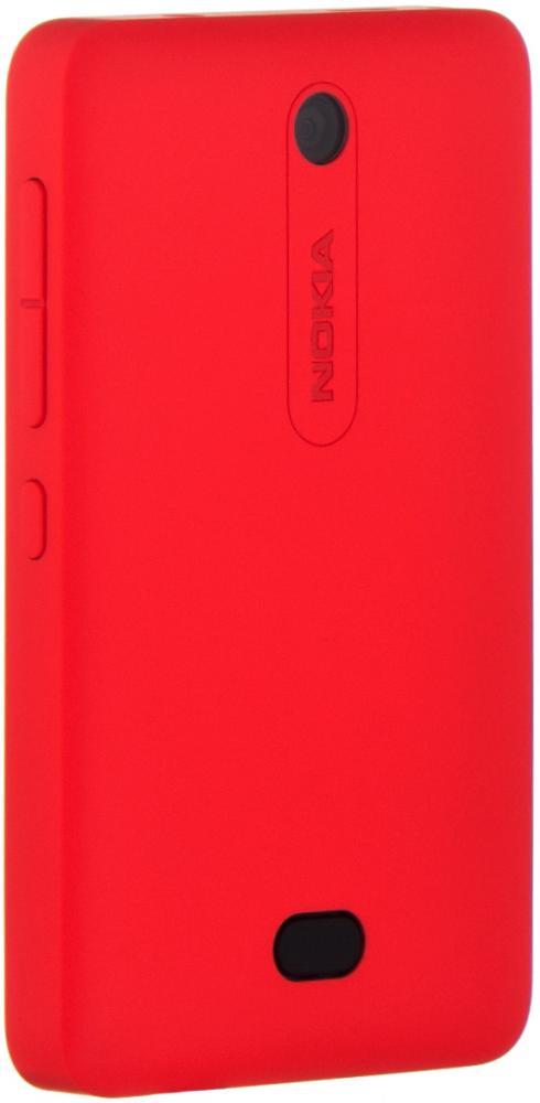 Аксессуар Сменная панель Nokia 501 Asha CC-3070 Red