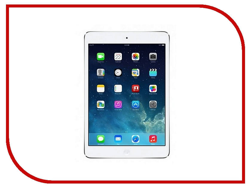 Планшет APPLE iPad mini 2 32Gb Wi-Fi + Cellular Silver ME824RU/A