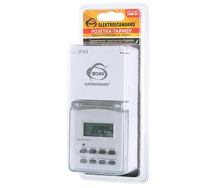 Розетка Elektrostandard TMH-E-6 IP44 White