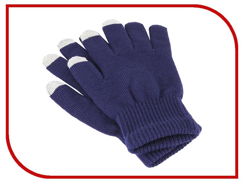 Теплые перчатки для сенсорных дисплеев iGlover Classic р.UNI Blue