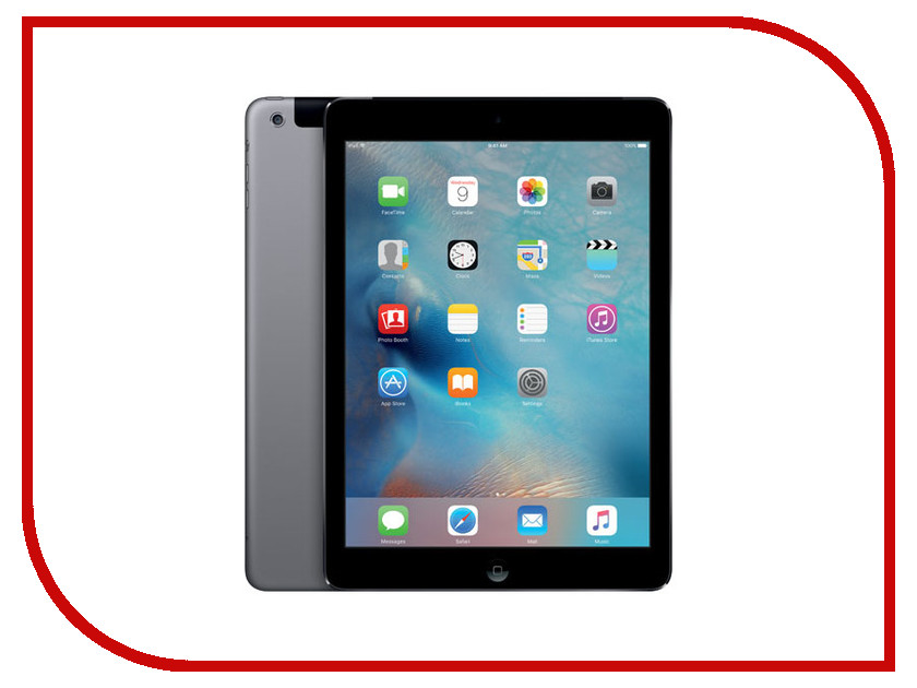 Планшет APPLE iPad Air 32Gb Wi-Fi + Cellular Space Grey MD792RU/A