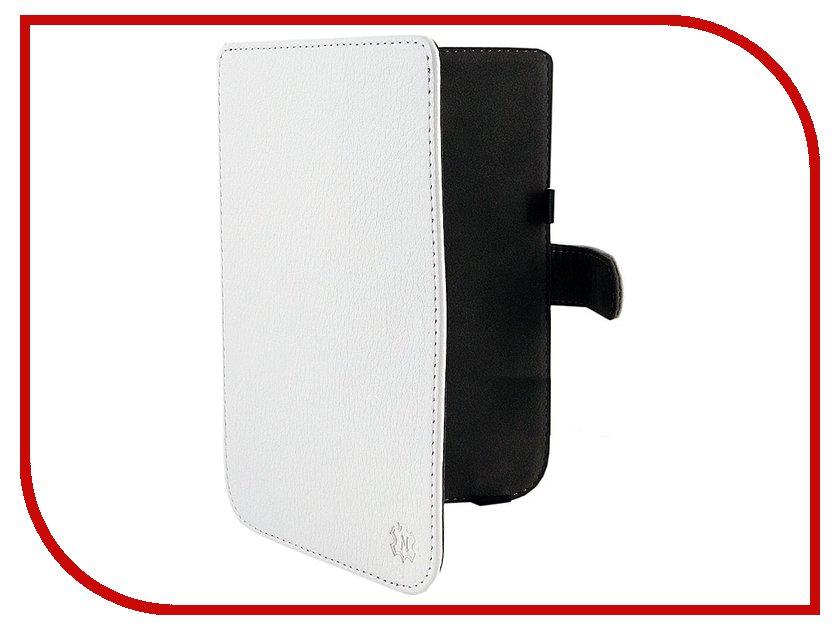 Аксессуар Чехол Norton for PocketBook 624 иск. кожа White