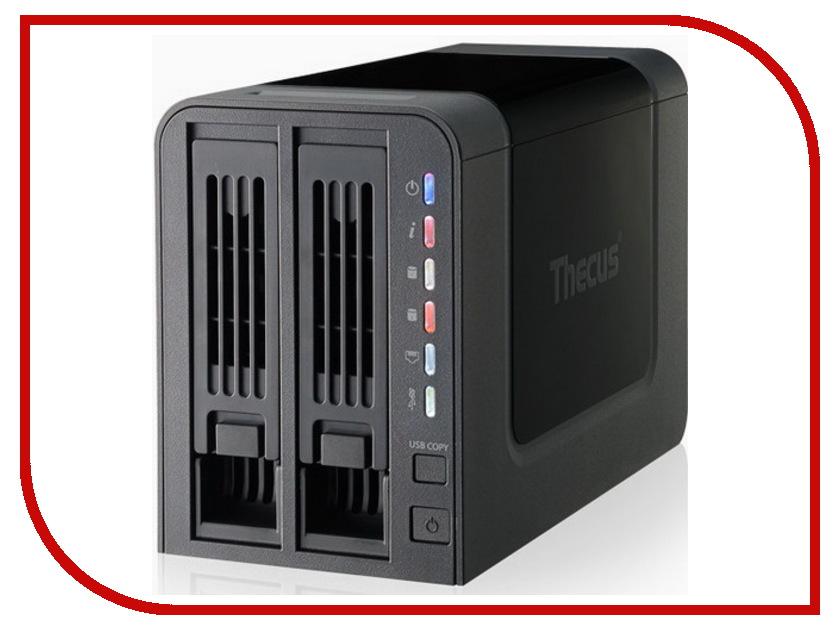Сетевое хранилище Thecus N2310 сетевое хранилище orico 7618u3rf black