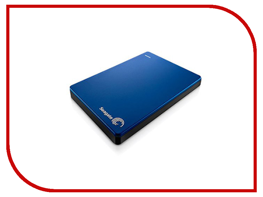 внешние HDD/SSD STDR1000202  Жесткий диск Seagate Backup Plus Slim 1Tb Blue USB 3.0 STDR1000202