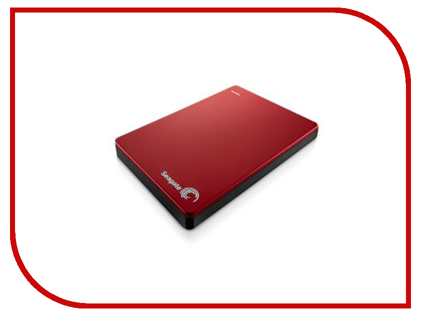 Фото Жесткий диск Seagate Backup Plus Slim 1Tb Red USB 3.0 STDR1000203