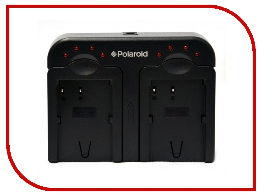 Зарядное устройство Polaroid Dual for Canon NB-4L/NB-5L/NB-6L/808/BP-945 PLCH2CN54
