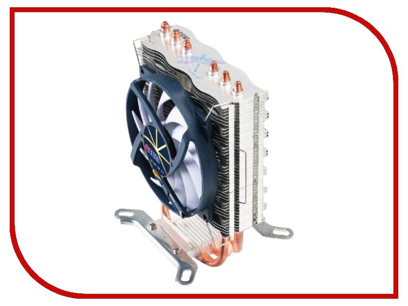 Кулер TITAN TTC-NC85TZ (RB) (Intel LGA775/LGA1150/LGA1155/LGA1156/LGA1356/LGA1366/LGA2011/AMD AM2/AM2+/AM3/AM3+/FM1/FM2) вентилятор titan tfd c8025l12z ld1 rb 80x80x25mm z axis 3 pin 2000 rpm 23 dba red blue green
