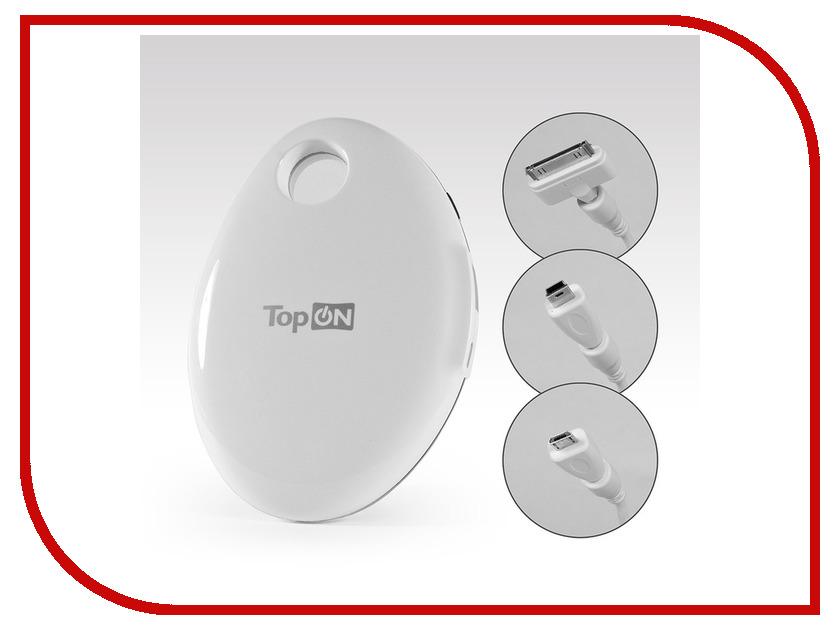 Аккумулятор TopON TOP-MIX/W 3.7V 4400mAh White клавиатура topon top 100483 для sony vaio vpc cw vpccw vpc cw1e1r bu series white