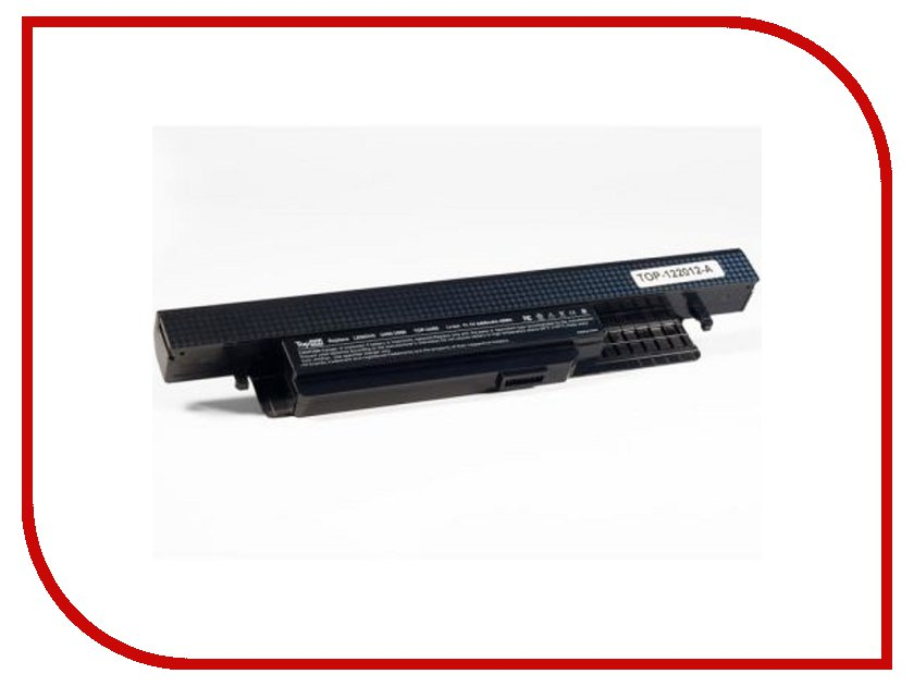 Аккумулятор TopON TOP-U450 11.1V 4400mAh Black for Lenovo IdeaPad U450P/U550 Series