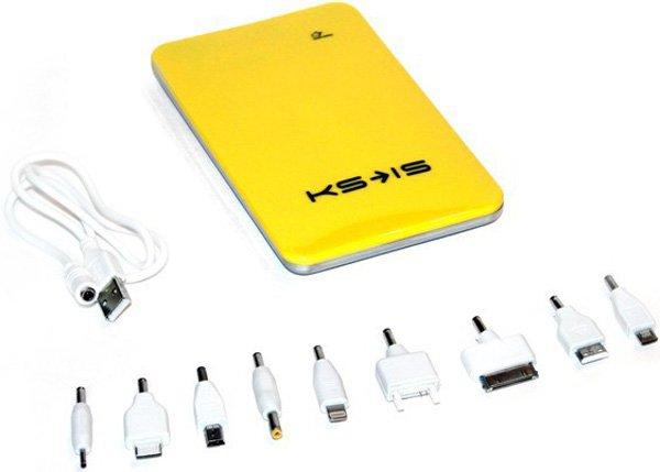 Аккумулятор KS-is Power 10000 KS-215 10000 mAh Yellow