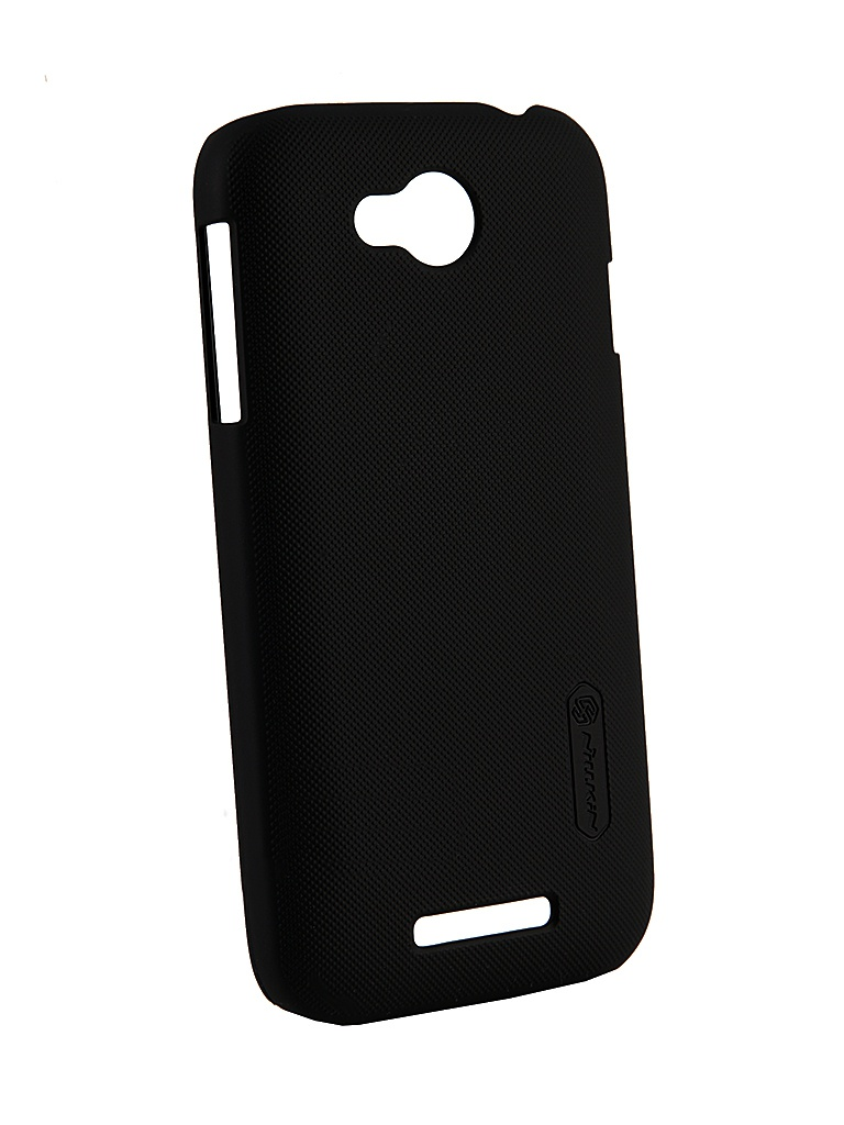 Аксессуар Чехол-накладка Lenovo A706 Nillkin Super Frosted Shield Black<br>