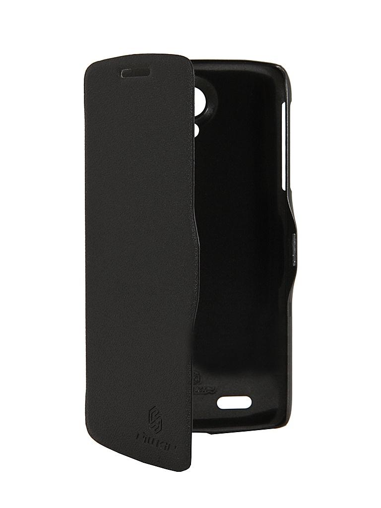 ��������� ����� Lenovo S820 Nillkin Fresh Series Leather Case Black