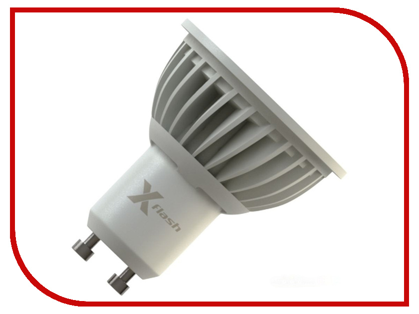 Лампочка X-flash XF-MR16-P-GU10-5W-3K-220V 45020<br>