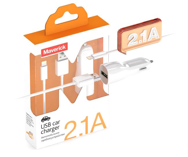 ��������� Maverick Air for iPad 4/ iPhone 5 2100mA White �������� ���������� �������������