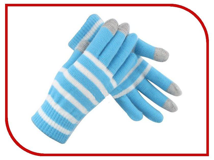 Теплые перчатки для сенсорных дисплеев Seenda FT-152 Light Blue