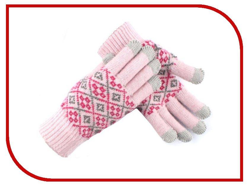 Теплые перчатки для сенсорных дисплеев Seenda FT-147 Light Pink<br>