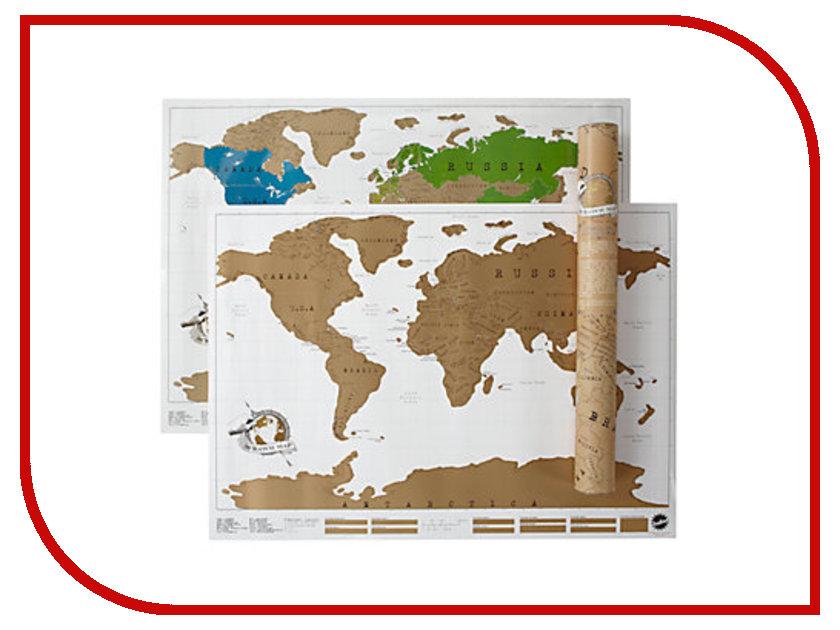 Гаджет Foshan! Thrue Map Карта мира в тубусе 0346<br>
