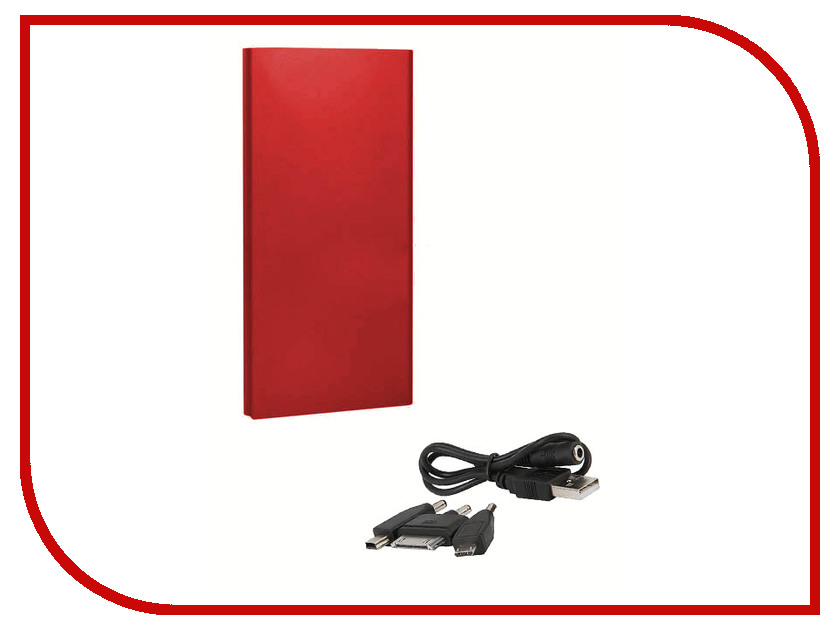 Аккумулятор CasePower A80 XL Power Booster 8000 mAh Red CASE-353-RED<br>