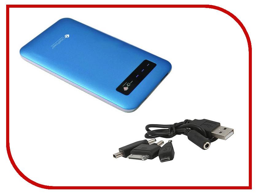 Аккумулятор CasePower A34 Slim Power Booster 4000 mAh Blue CASE-352-BLUE