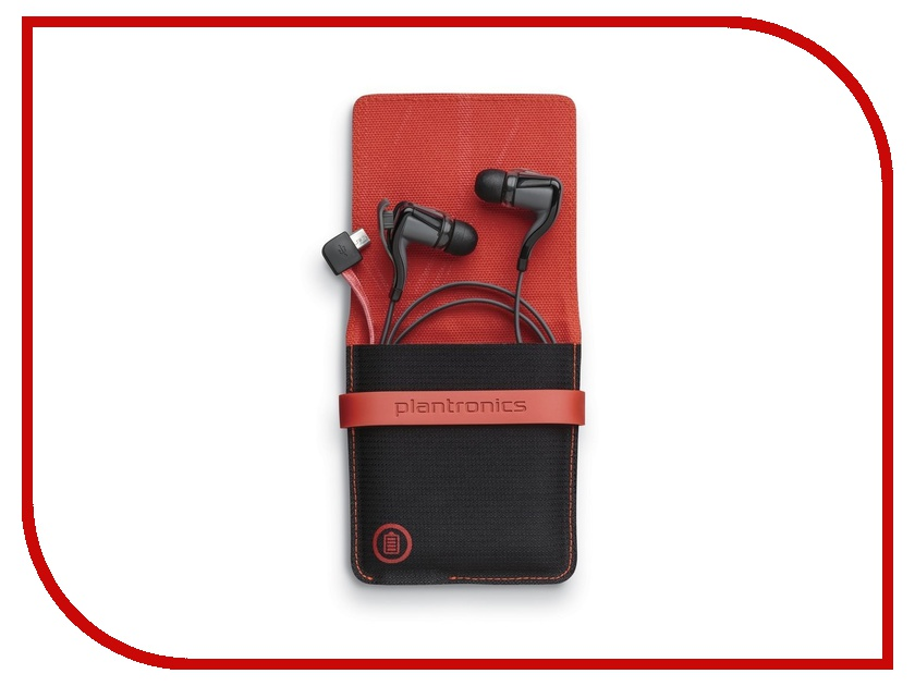 Гарнитура Plantronics BackBeat GO 2 with Charging Case Black<br>