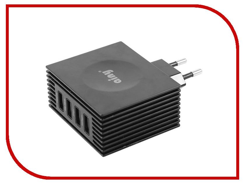 Аксессуар Ainy для APPLE USBx4 4.2A EA-034H зарядное устройство сетевое