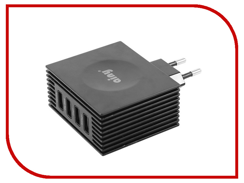 Аксессуар Ainy для APPLE USBx4 4.2A EA-034H зарядное устройство сетевое сетевое зарядное устройство ainy ea 031b с 2 мя usb 1a 2 1a белое