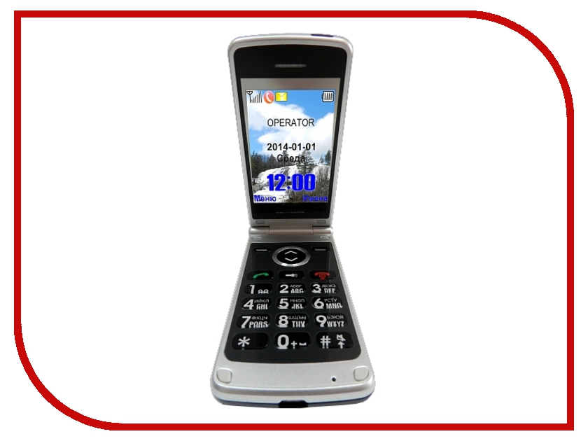 Сотовый телефон BB-mobile VOIIS Comfort все для bb mobile