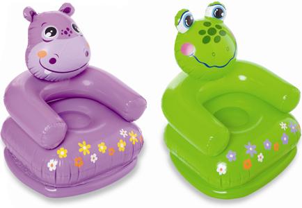Надувное кресло Intex Happy Animal 68556 цена