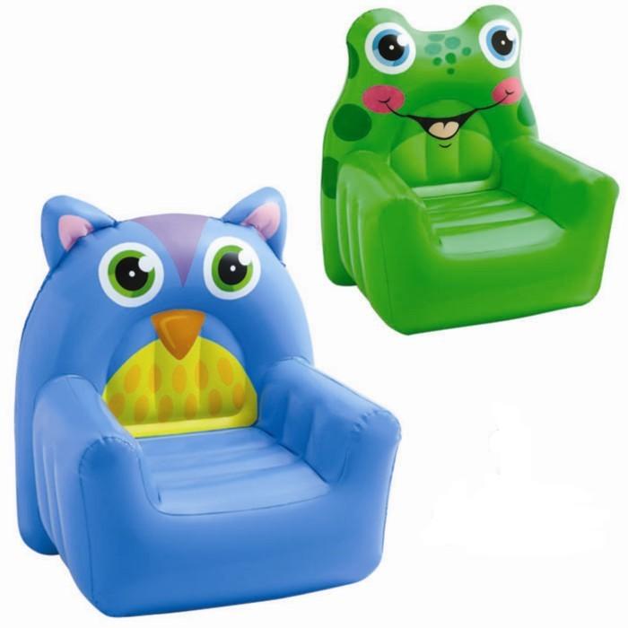 Надувное кресло Intex Cozy Animal Chair 68596