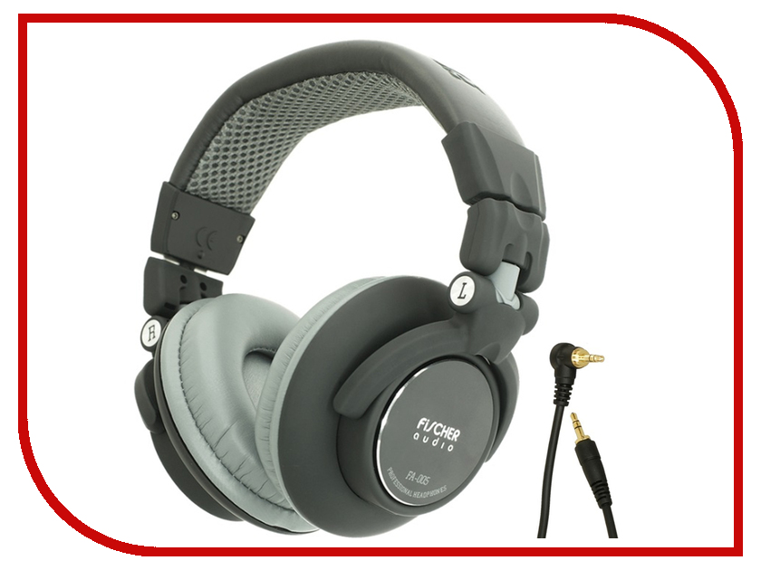 все цены на Fischer Audio FA-005 Black-Grey онлайн