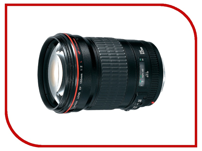 Объектив Canon EF 135 mm F/2.0 L USM объектив canon ef 28 300 mm f 3 5 5 6 l is usm