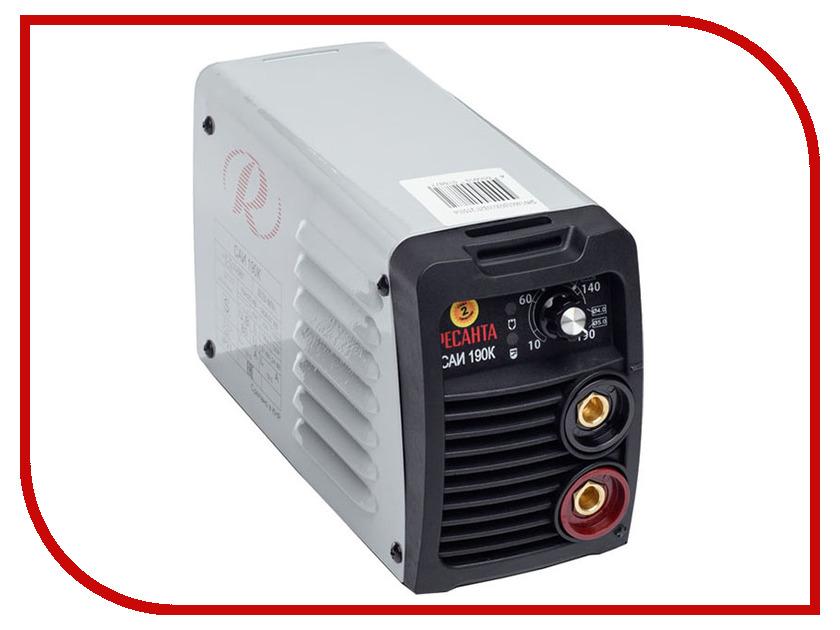 Сварочный аппарат Ресанта САИ 190К