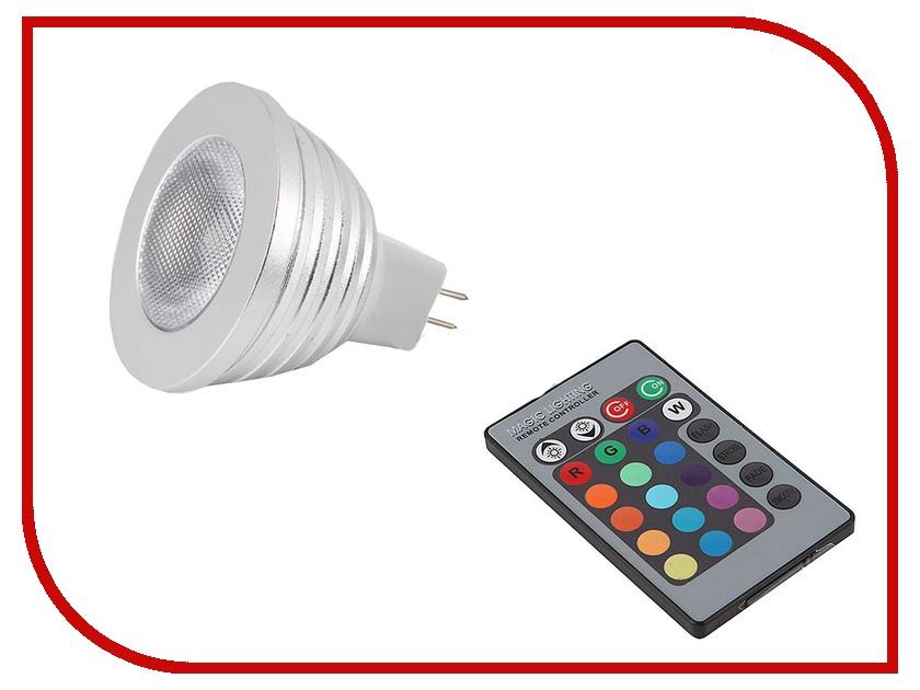 Лампочка Aikitec Lampkit RGB-01-5W-GU5.3<br>