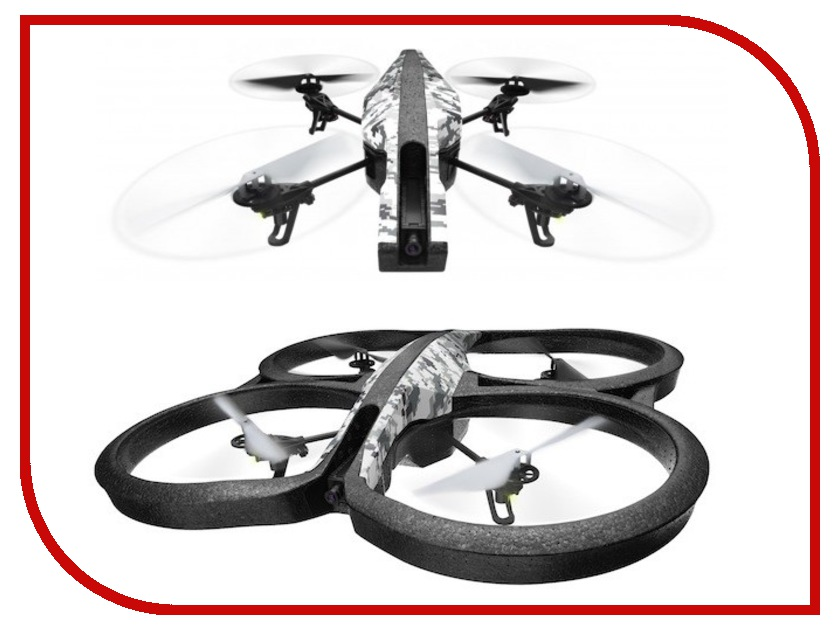 Квадрокоптер Parrot Ar Drone 2.0 Elite Edition Snow Camo