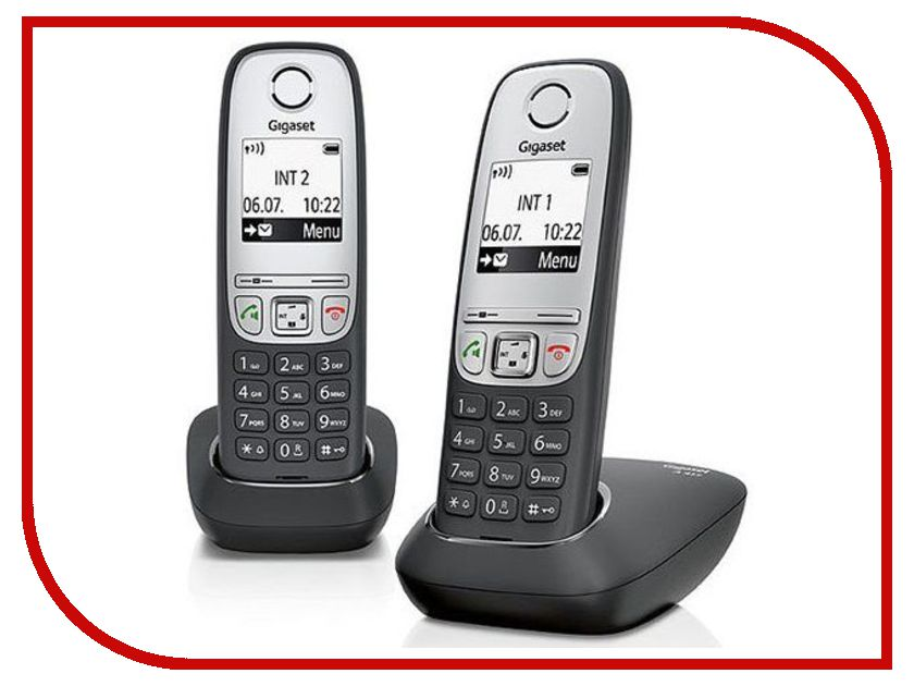 Zakazat.ru: Радиотелефон Gigaset A415 Duo