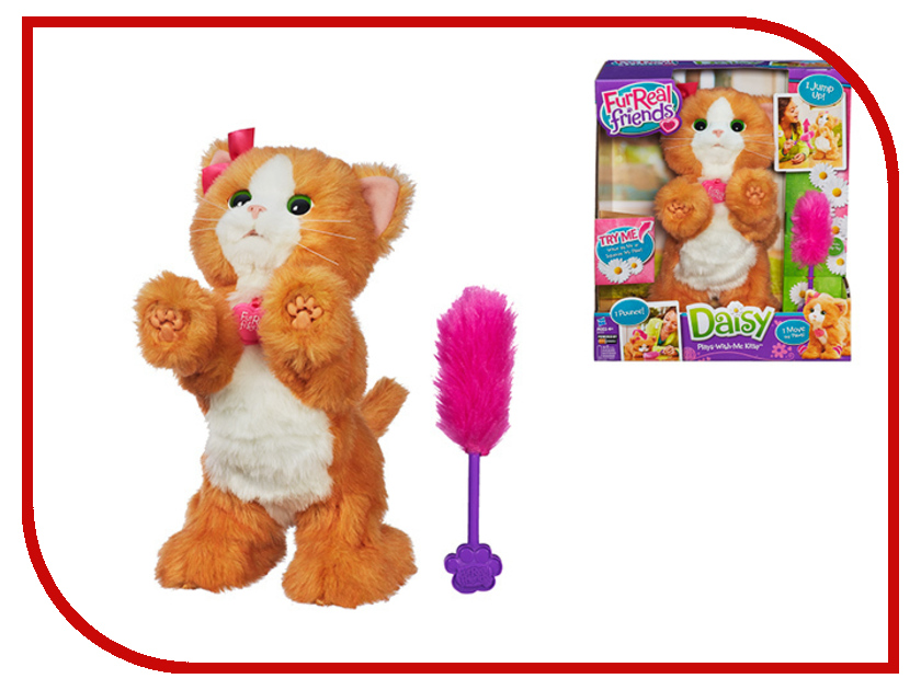 Игрушка Hasbro FurReal Friends Котенок игривый Дэйзи 2003E35A<br>