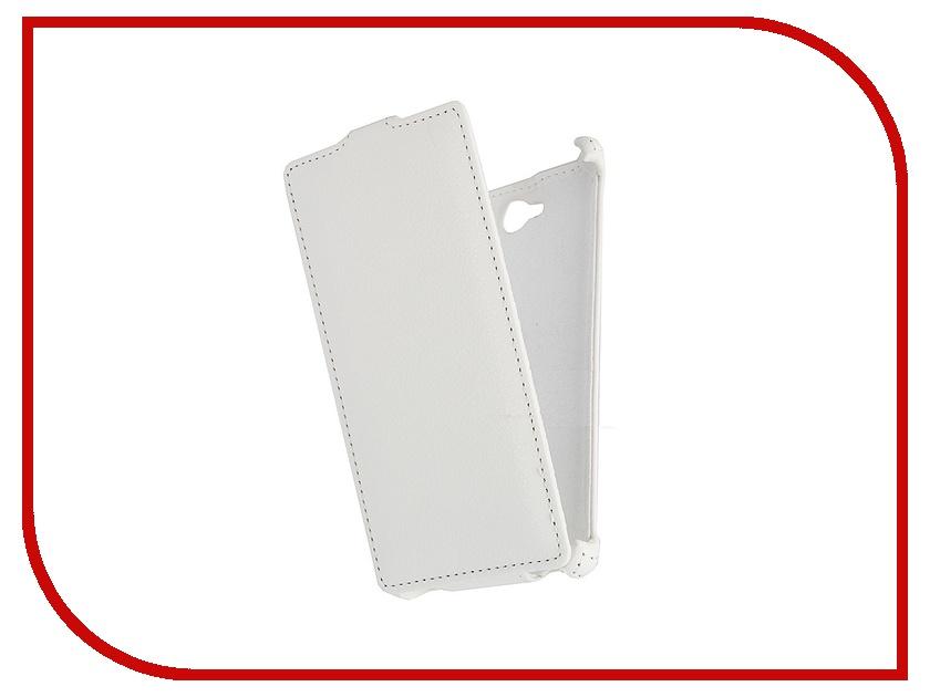 Аксессуар Чехол Sony S39h Xperia C Ainy / Aksberry / iBox Premium White