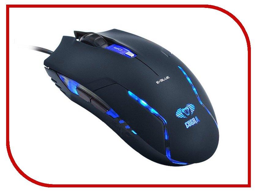 Мышь проводная E-Blue Cobra Junior EMS151BK Black<br>